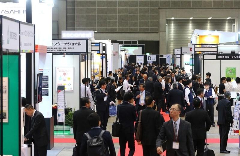 Floor image from Medtec Japan 2017