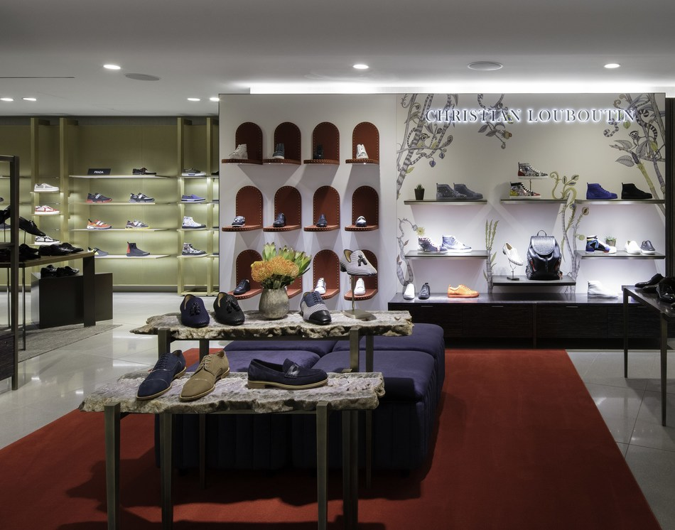 Christian Louboutin shop at Nordstrom Men's Store NYC