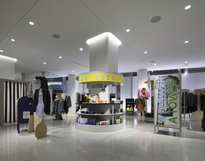 Comme des Garcons shop at Nordstrom Men's Store NYC