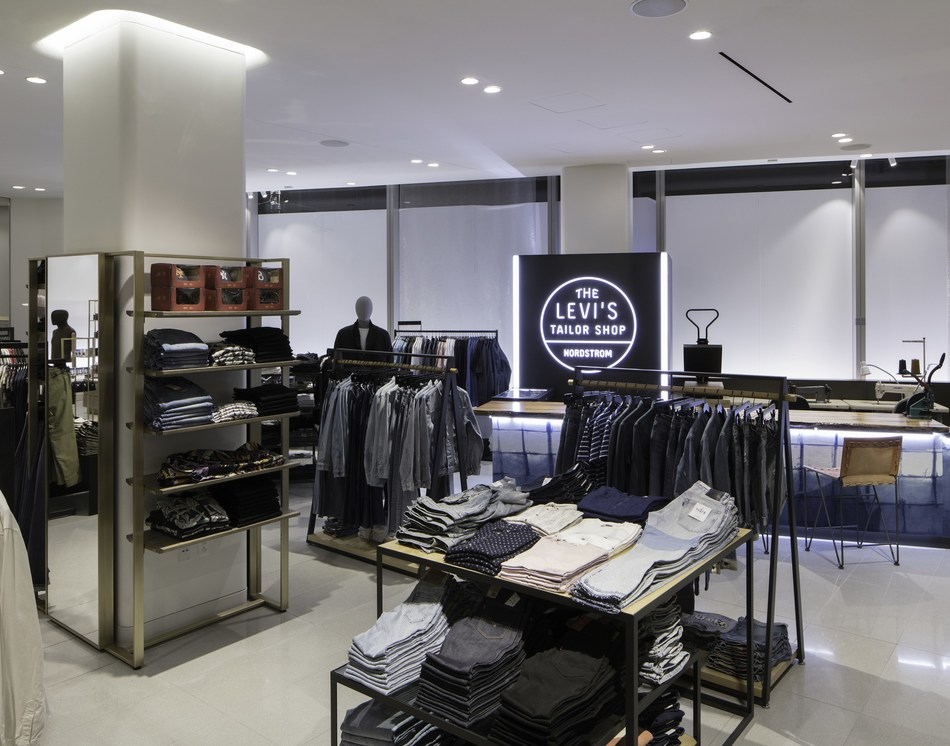Levi's Tailor Shop at Nordstrom Men's Store NYC