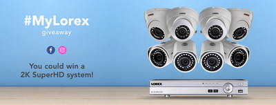Lorex 2K Security Camera Contest (CNW Group/LOREX Technology Inc.)