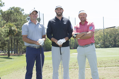 Johnson, Saunders and McDowell at RBC Heritage event to celebrate 50 years. (CNW Group/RBC)