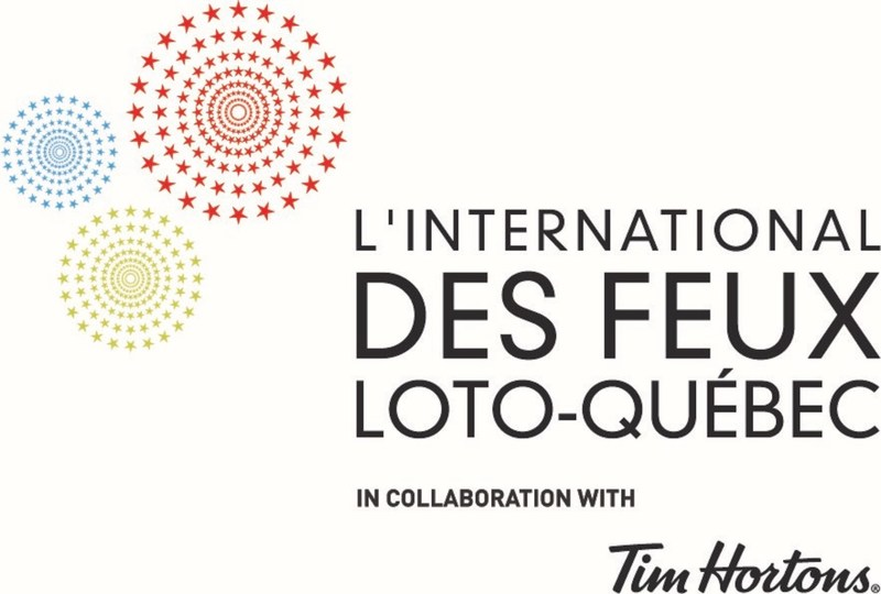 Logo : L'International des Feux Loto-Québec (CNW Group/La Ronde)