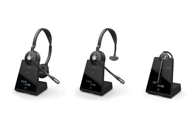 Jabra Engage Franchise - engineered to be the world's most powerful professional wireless headsets