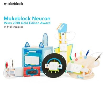 Makeblock Neuron, la plateforme de blocs de construction électroniques programmables primée aux Edison Awards
