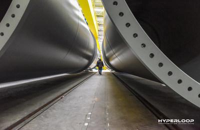 Hyperloop Transportation Technologies Begins Construction on World's First Full-Scale Passenger & Freight System