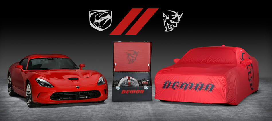 Dodge//SRT Teams with Barrett-Jackson to Auction Last 2018 Dodge Challenger SRT Demon and 2017 Dodge Viper for Charity