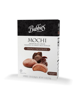 "Bubbies Homemade Ice Cream & Desserts and its new Triple Chocolate Mochi Ice Cream has won a prestigious 2018 sofi (specialty outstanding food innovation) Award"" from the Specialty Food Association which recognizes outstanding consumer food products."