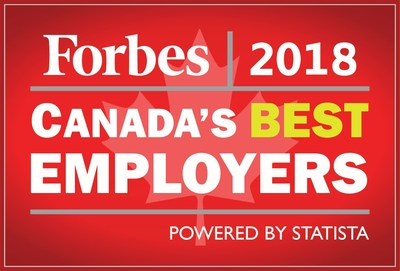 Forbes 2018 Canada's Best Employers (CNW Group/Day & Ross Freight)
