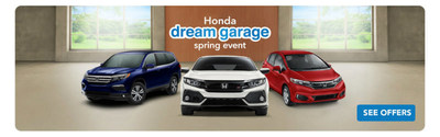 Cumberland County residents can purchase a new Honda model during Honda Dream Garage spring events sales at Vineland dealership
