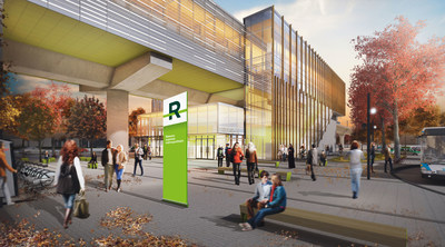 REM - Kirkland Station (CNW Group/Lemay Perkins+Will Bisson Fortin consortium)