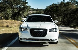 front view of the Chrysler 300, which is available at Coast to Coast Motors.