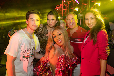 Thomas Henry Jr, Maya Henry, Cardi B, Thomas J Henry, Azteca Henry (Photo Credit: AH/Hangin' with Los Henrys)