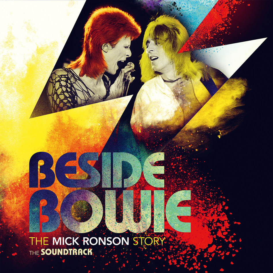 """Beside Bowie: The Mick Ronson Story, The Soundtrack"" will be released June 8 via UMe. The first official career retrospective compilation for guitar virtuoso, Mick Ronson, features highlights from his solo records and key collaborations with David Bowie, Elton John, Ian Hunter, Michael Chapman and Queen."