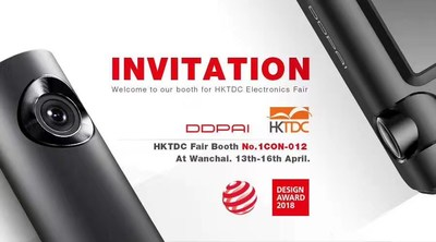 DDPAI Attends HKTDC Electronics Shows with Brand New Dashcam Series