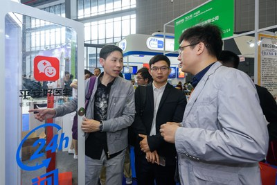 Instant Clinic drew attention at PharmChina