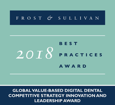 2018 Global Value-based Digital Dental Competitive Strategy Innovation and Leadership Award