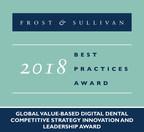 2018 Global Value-based Digital Dental Competitive Strategy Innovation and Leadership Award (PRNewsfoto/Frost & Sullivan)