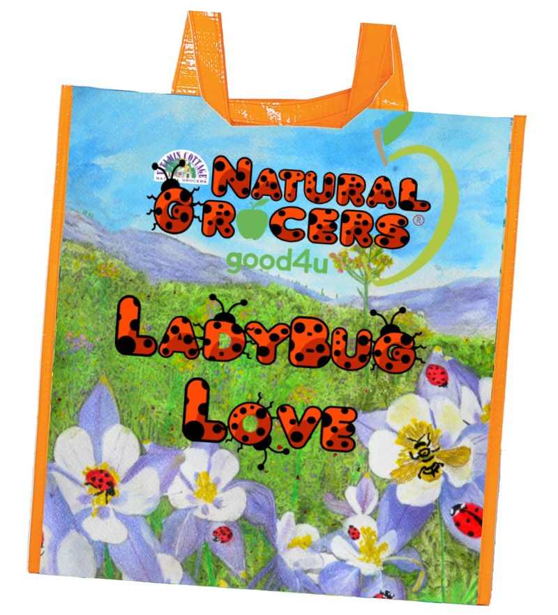 During Natural Grocers' Earth Day sale, customers will receive a free reusable shopping bag with purchase.