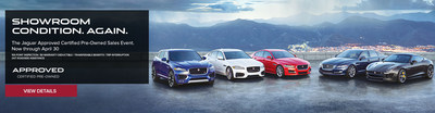 Budget-minded luxury car shoppers in the San Antonio area will find their dream car at a dream price during the Jaguar Approved Certified Pre-Owned Sales Event at Barrett Jaguar this April.