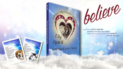 "Nancy Alanis' new book ""When My Paws Depart My Spirit Will Heal Your Heart"""