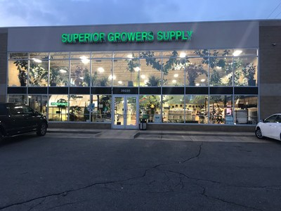 Superior Growers Supply 2018,Livonia,MI (CNW Group/GrowGeneration)