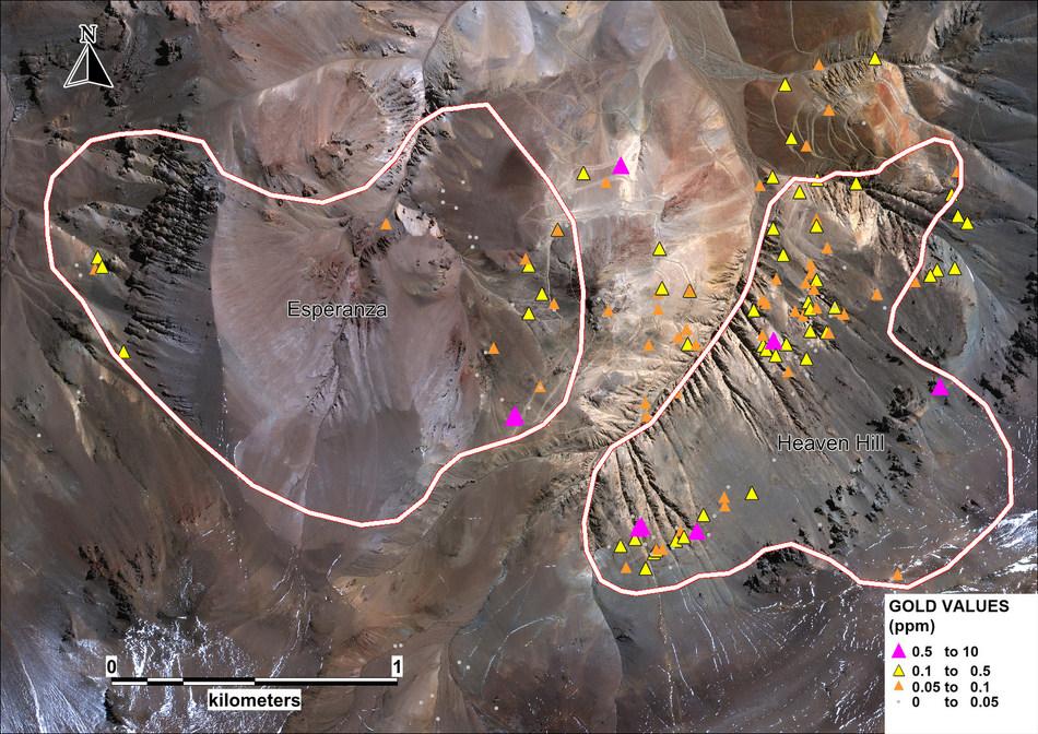 Au Satellite Image (CNW Group/Sable Resources Ltd.)