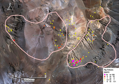 Hg Satellite Image (CNW Group/Sable Resources Ltd.)