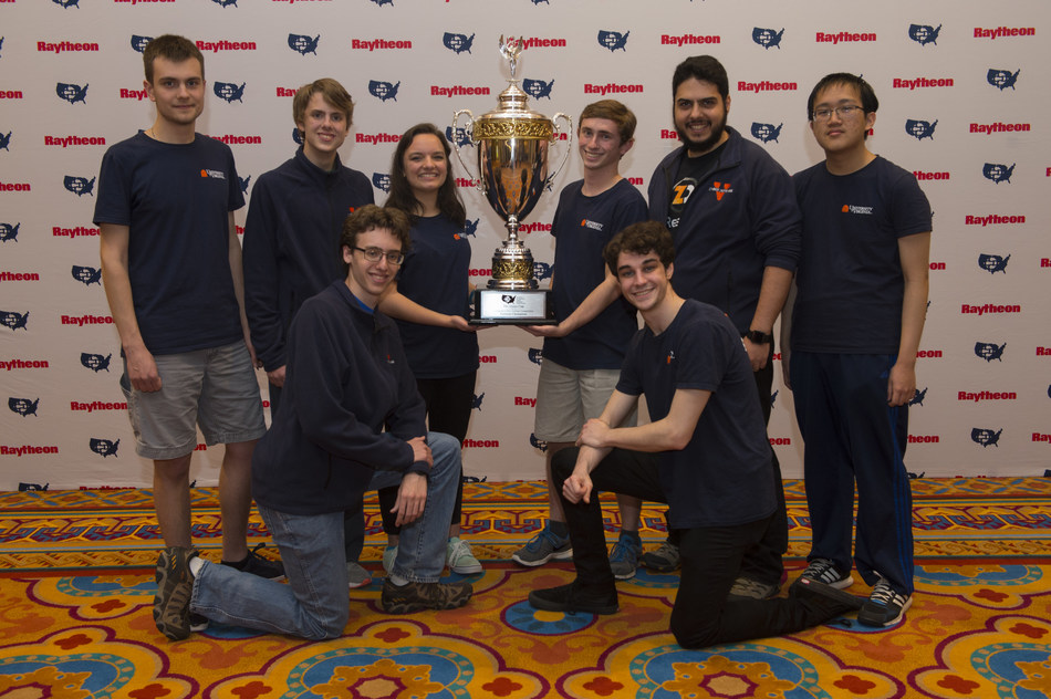 University of Virginia cybersecurity team best 234 schools from around the country to win 2018 National Collegiate Cyber Defense Competition.