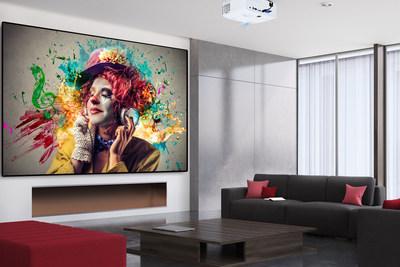 ViewSonic PX747-4K high brightness DLP Ultra HD home projector. (CNW Group/ViewSonic)