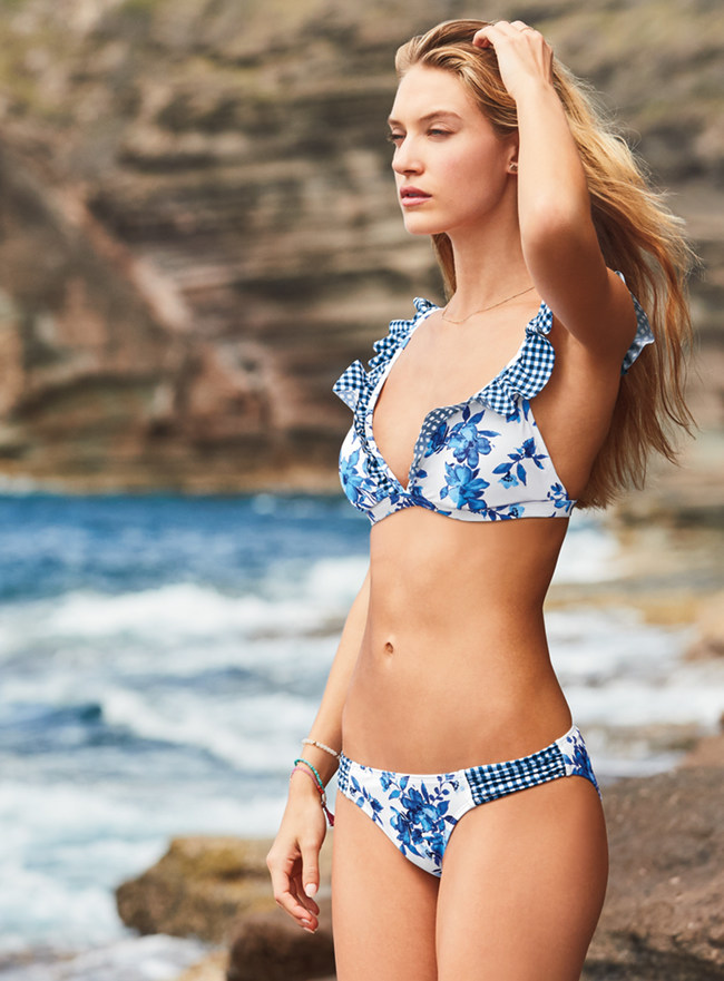 Lands' End's New Sunrise Swimsuit Collection Shines on the Horizon