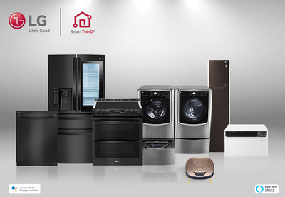 LG Electronics USA today announced today that its expansive portfolio of Wi-Fi connected smart appliances are now compatible with both Amazon Alexa and the Google Assistant, establishing the brand among the first major appliance manufacturers offering voice assistant connectivity to both services.