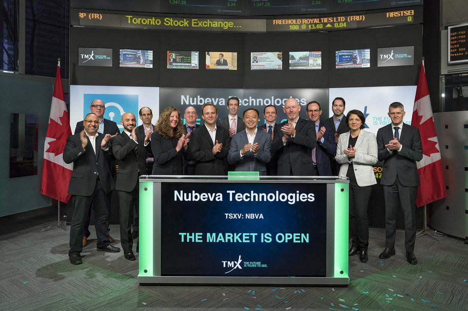 Nubeva Technologies Ltd. Opens the Market (CNW Group/TMX Group Limited)