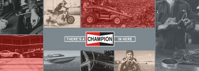 'There's a Champion in Here' campaign ignites the winning spirit and celebrates the Champion® in everyone