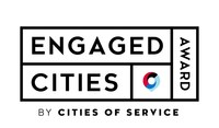 Cities of Service Engaged Cities Award Logo