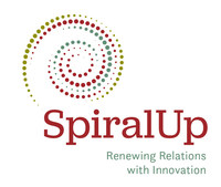 Spiral Up is inspired by the Cree tradition, the spiraling path upwards from the self through family, community, nation, natural, and spiritual world. It is understood as the path to mend relationships or Wahkotowin. (CNW Group/Spiral Up)
