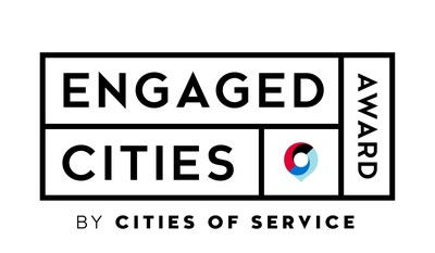 El logotipo del Engaged Cities Award (Premio a Ciudades Involucradas) de Cities of Service (PRNewsfoto/Cities of Service)