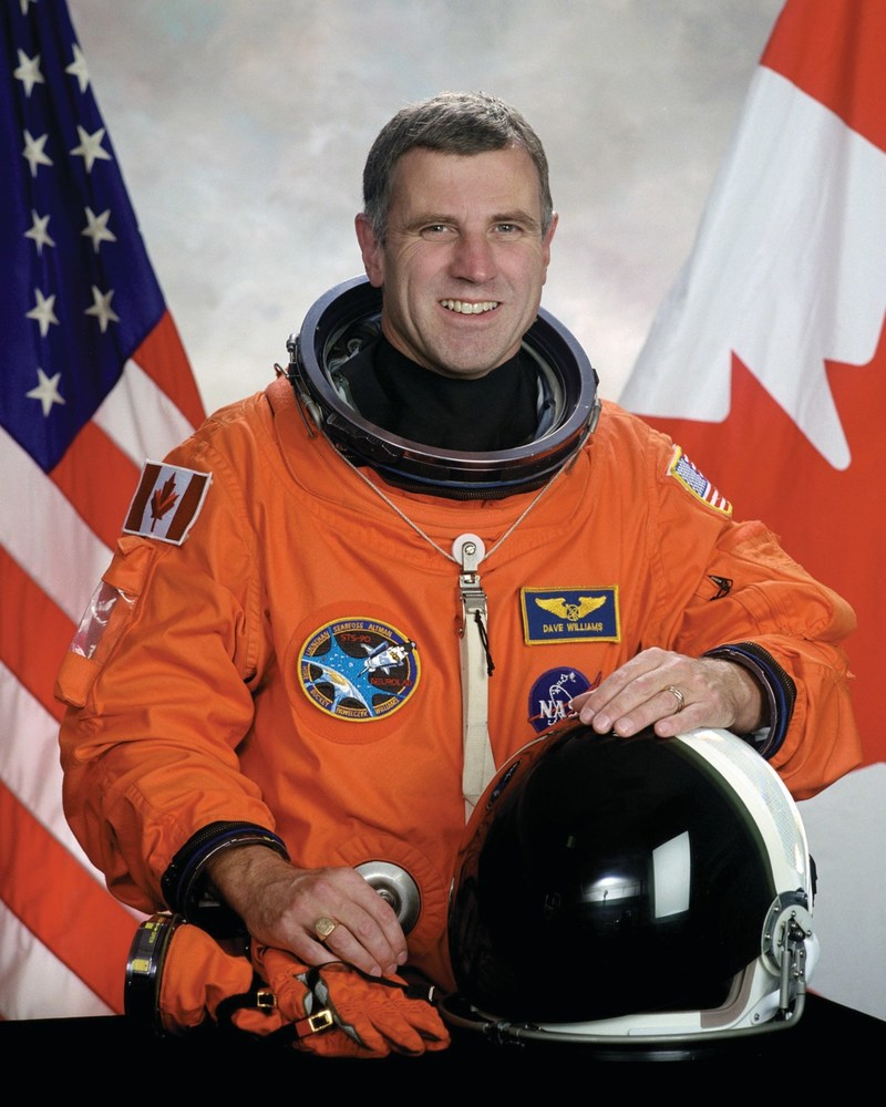 Celebrate International Astronomy Day at the Ontario Science Centre on April 21 with special guest Dr. Dave Williams, former Canadian Space Agency astronaut. (CNW Group/Ontario Science Centre)