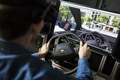 Although the initial design of a new car always begins with pencil and paper, 3D technology soon comes into play. (PRNewsfoto/SEAT)
