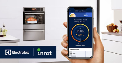 Innit will power the Electrolux connected cooking experience, adding value from meal inspiration to table by creating personalized meal content with visual guidance, enabling consumers to control their appliances with the tap of the screen.