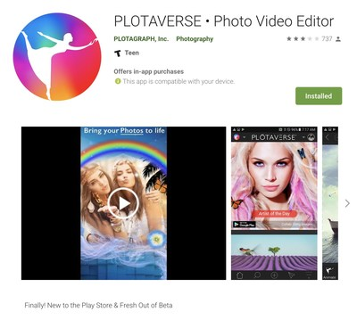 Plotaverse Free Mobile App Download in Google Play