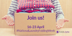April 16-23: Official National Laundry Folding Week #NLFW