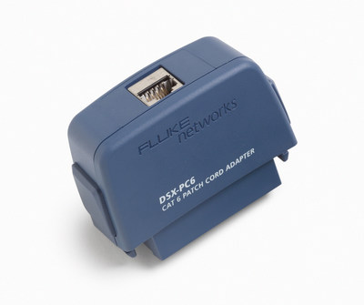 Fluke Networks' new MPTL adapter accessory allows owners of the DSX CableAnalyzer Series to perform field certification of MPTL links based on the draft ANSI-TIA568.2-D standard.