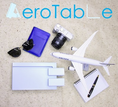 Innovative In-Flight Carry-On Table, AeroTable, Launches IndieGoGo Campaign