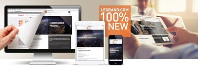 Dynamic content, fewer clicks and a fully responsive website: Legrand is taking its digital presence to the next level and enhancing its user experience.