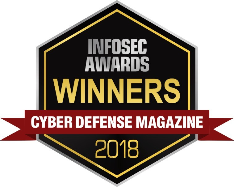 Blue Ridge Networks named 'Hot Company' in Cyber Defense Magazine's 2018 InfoSec Awards.