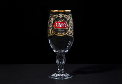 The Limited-Edition Stella Artois Regal Chalice celebrates the world's most anticipated nuptials on May 19th. Crafted with an elegant gold design, this keepsake includes nineteen gilded icons commemorating the love story of the soon-to-be-weds. Now available for purchase for $5.19, a nod to this momentous date, until royal fans claim them all.