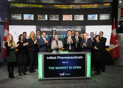 InMed Pharmaceuticals Inc. Opens the Market (CNW Group/TMX Group Limited)