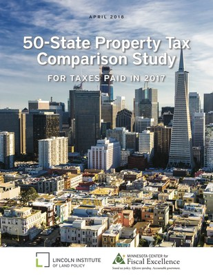 50-State Property Tax Comparison Study by the Lincoln Institute of Land Policy and Minnesota Center for Fiscal Excellence