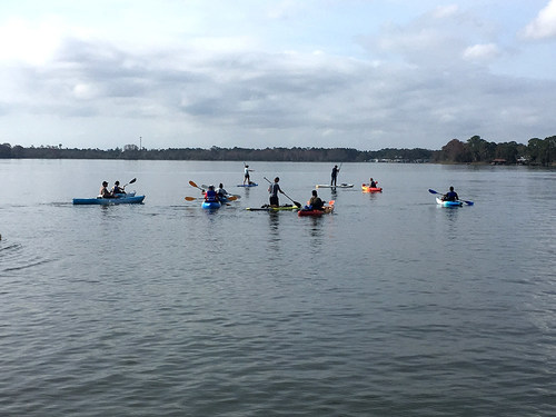 """Warriors and guests recently participated in a Wounded Warrior Project® (WWP) event where they kayaked on picturesque Dora Canal, sometimes called """"the most beautiful mile of water in the world."""""""